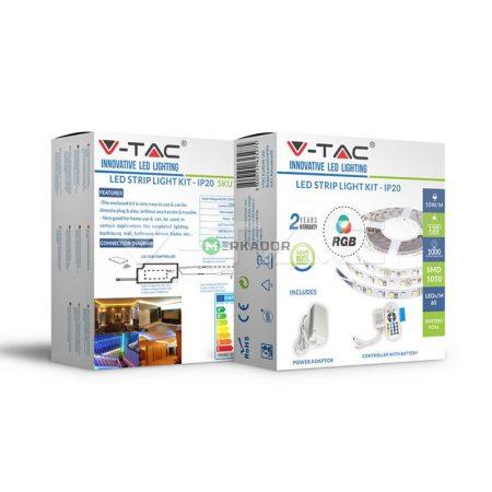 V-TAC Smart Light WiFi vezérlős 5 m RGB LED szalag szett - 2583