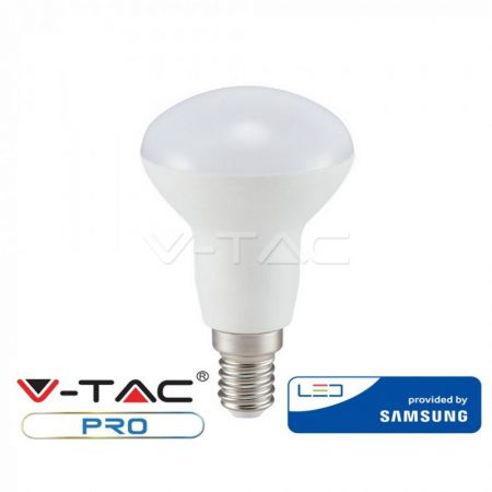 V-TAC PRO 6W E14 meleg fehér LED lámpa izzó - SAMSUNG chip - 138