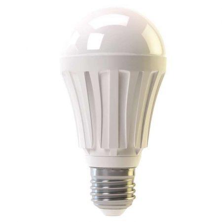 Prémium fémházas A60 LED izzó, 10W, E27 - hideg fehér