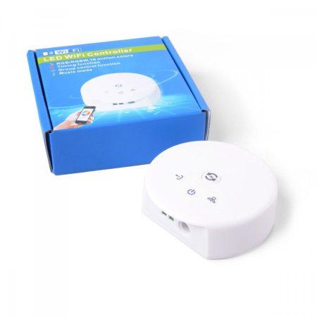 WIFI RGB / RGBW / egyszínű LED szalag vezérlő