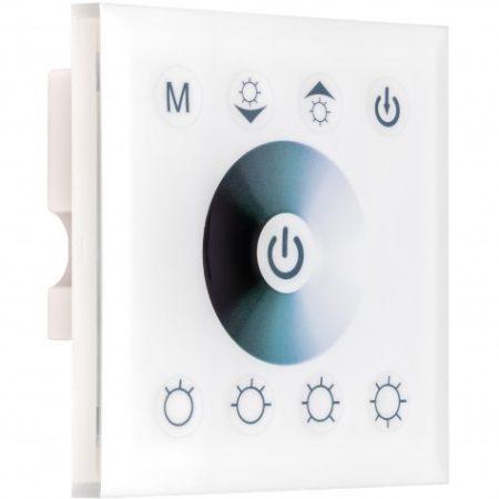 Fali LED szalag vezérlő fényerőszabályzó dimmer 12V/4A