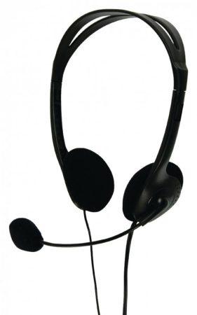 Sztereó fejhallgató mikrofonnal