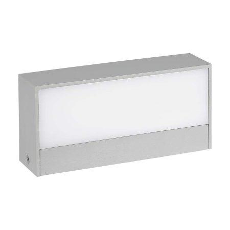 V-TAC kültéri homlokzatvilágító fali LED lámpa 9W - meleg fehér - 8239