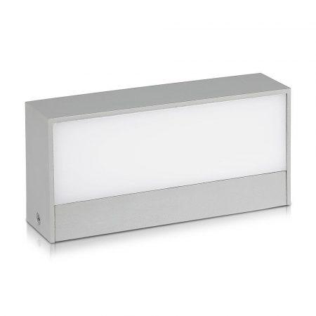 V-TAC kültéri homlokzatvilágító fali LED lámpa 9W - hideg fehér - 8241