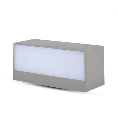 V-TAC kültéri homlokzatvilágító fali LED lámpa 12W - hideg fehér - 8244