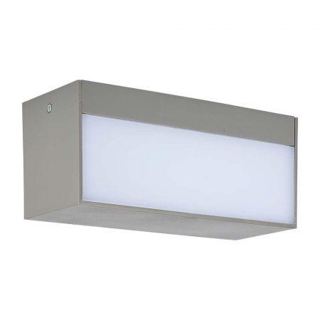 V-TAC kültéri homlokzatvilágító fali LED lámpa 12W - természetes fehér - 8243