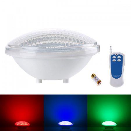V-TAC színváltós medence világítás, vízálló RGB LED lámpa PAR56 - IP68, 12V, 8W - 7558