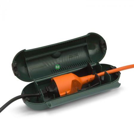 Kültéri védőborítás elosztóra, lengő hosszabbító IP44 védőkapszula