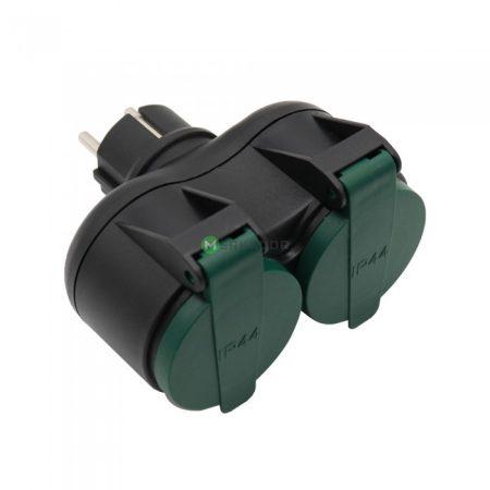 V-TAC IP44 kültéri elosztó aljzat - 8812