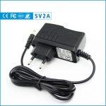 TP-LINK, D-LINK router utángyártott tápegység, hálózati adapter 5V / 2A - 1,35 mm / 3,5 mm