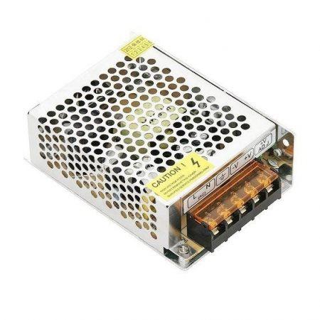 MK07 hálózati adapter, LED tápegység fém 12V 5A 60W