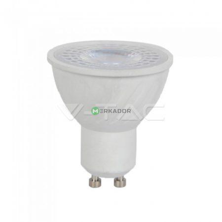 V-TAC spot lámpa LED izzó, 6W GU10 38° - meleg fehér, CRI>95 - 7497