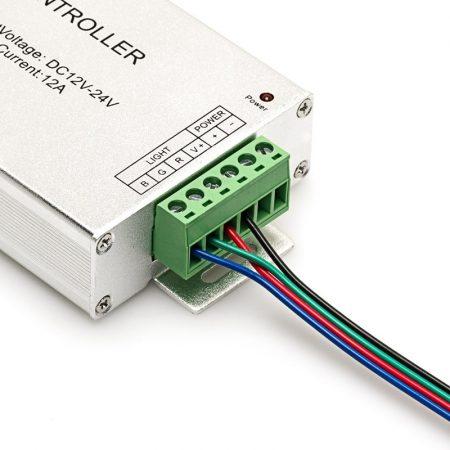 RGB LED szalag vezérlő RF rádiófrekvenciás 144W/12V