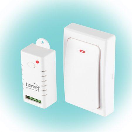 Vezeték nélküli rádiófrekvenciás kapcsoló 230V - fehér