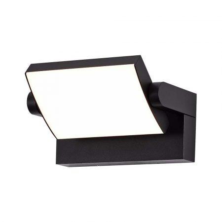 Falba süllyesztett kültéri/beltéri fali LED lámpa GX53 égővel - fekete, négyzet