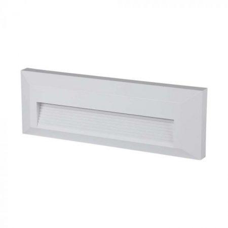 Falba süllyesztett kültéri/beltéri fali LED lámpa GX53 égővel - fekete, kerek