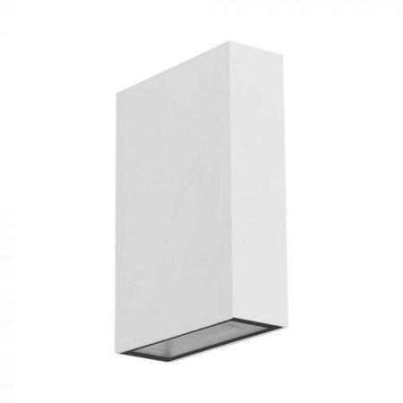 Falba süllyesztett kültéri/beltéri fali LED lámpa GX53 égővel - fehér, kerek