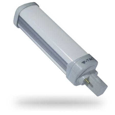 V-TAC G24 UFO LED lámpa izzó, 6W, természetes fehér - 7209