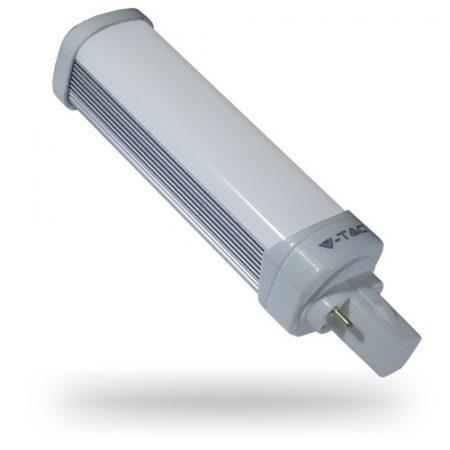 V-TAC G24 UFO LED lámpa izzó, 6W, meleg fehér - 7210