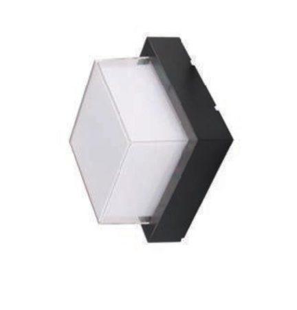 V-TAC kültéri négyzet alakú fali lámpa , meleg fehér - 8543