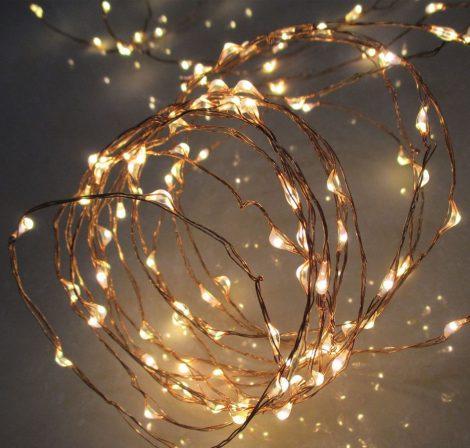Home micro LED fényfüzér 10,9m - kültéri/beltéri - 230V