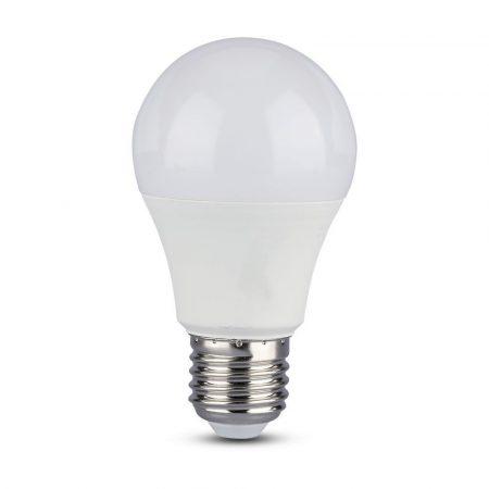 V-TAC alkonykapcsolós mozgásérzékelős LED izzó 9W E27, 4000K - 2761