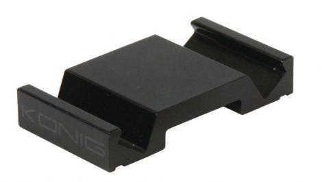 Alumínium tablet állvány, asztali telefontartó - fekete