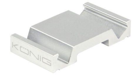 Alumínium tablet állvány, asztali telefontartó - ezüst
