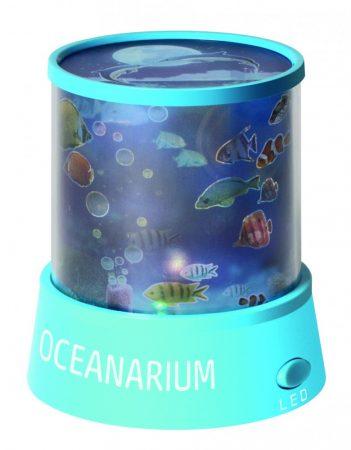 Óceán kivetítő lámpa - baba altató hangulatvilágítás