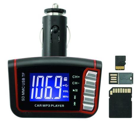 FMK82 autórádió FM transmitter MP3 USB-ről
