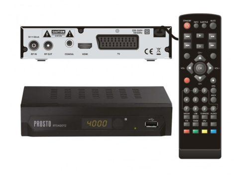 DVB-T beltéri vevő egység és multimédia-lejátszó - PROSTO RT5400T2