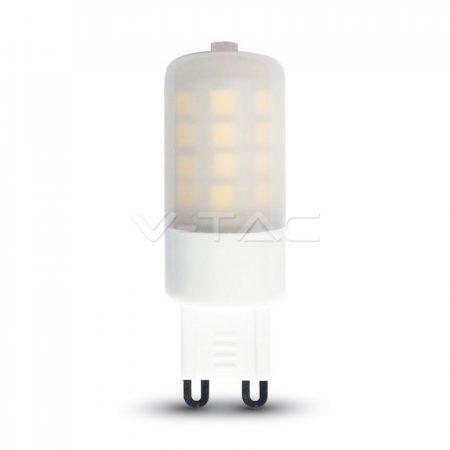 V-TAC dimmelhető G9 LED izzó 3W - meleg fehér - 7253