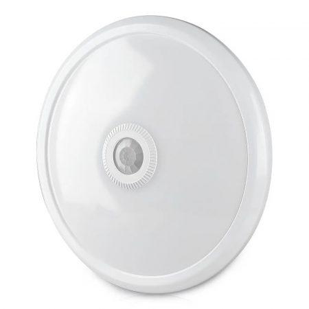 V-TAC mozgásérzékelős mennyezeti LED lámpa 12W - Samsung chip, 4000K - 808