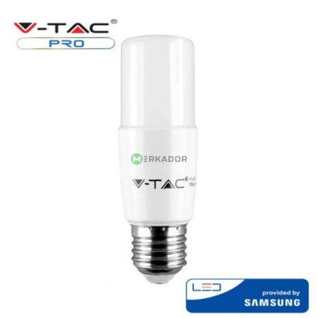 V-TAC T37 LED izzó 8W E27 - Samsung chip - meleg fehér - 144