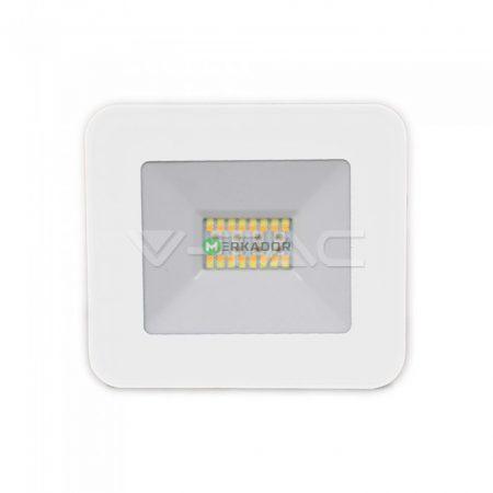 V-TAC bluetooth vezérlésű RGBW 20W LED reflektor - fehér ház - 5984