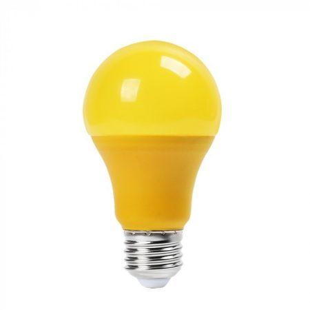 V-TAC sárga LED izzó 9W E27 foglalat - 7342
