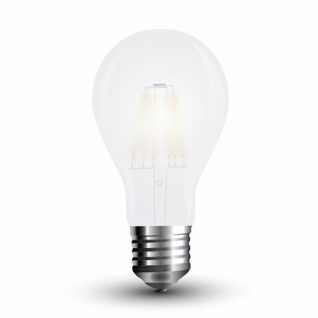 V-TAC filament LED izzó 7W E27 - meleg fehér - 7181