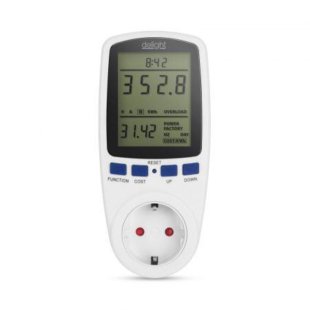 Smart Plug Wifi Pro konnektor, hálózati okos dugalj fogyasztásmérővel