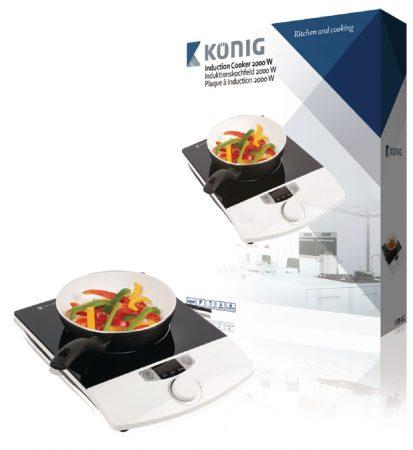 König hordozható asztali indukciós főzőlap