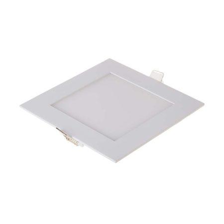 V-TAC süllyeszthető mennyezeti négyzet LED lámpa panel - 12W, hideg fehér - 4868