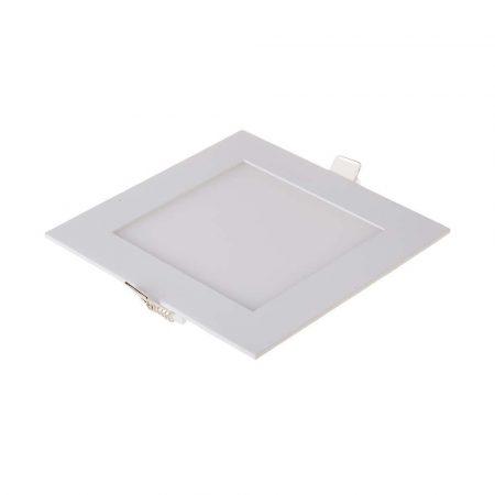 V-TAC süllyeszthető mennyezeti négyzet LED lámpa panel - 12W, meleg fehér - 4866
