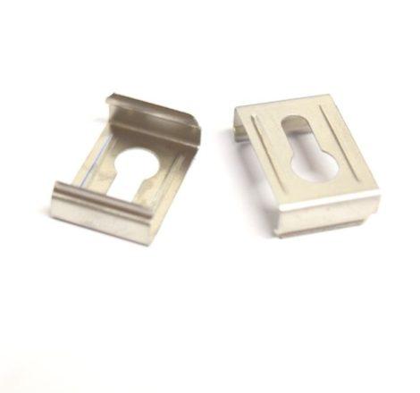 Falon kívüli alumínium LED profil rögzítőfül