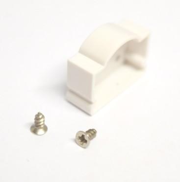 Falon kívüli alumínium LED profil végelzáró