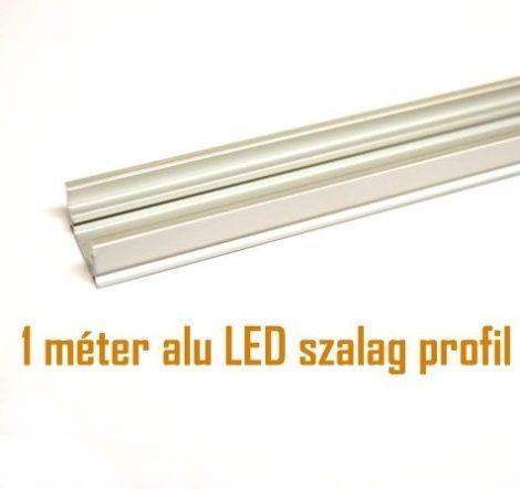Falon kívüli alumínium profil LED szalaghoz