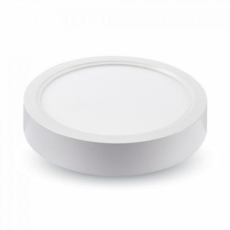 V-TAC falon kívüli LED lámpa panel 18W - természetes fehér, kerek - 4917