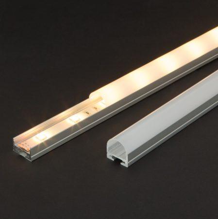 Függeszthető alumínium LED szalag profil szett