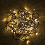 Kültéri - beltéri LED fényfüzér meleg fehér 21 m