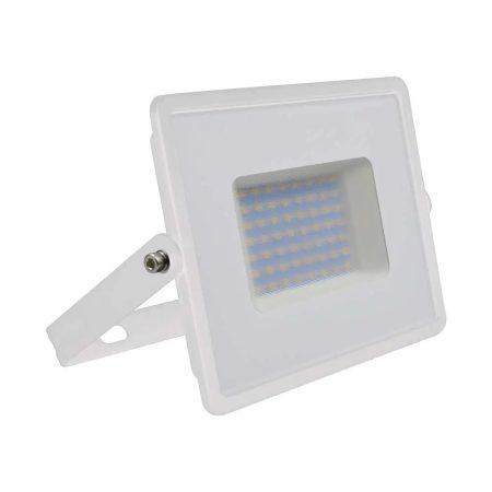 V-TAC 50W SMD LED reflektor, fényvető meleg fehér - fehér ház - 5961
