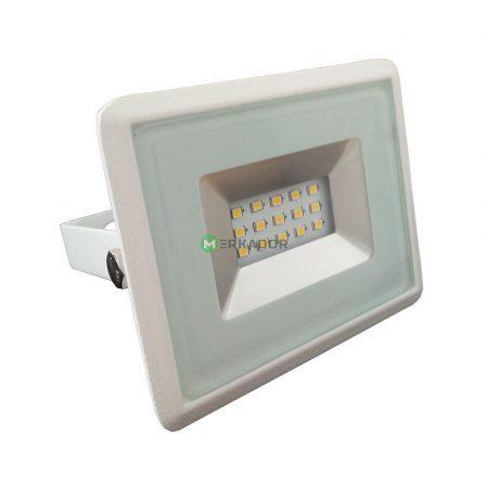 10W SMD LED reflektor, fényvető hideg fehér - fehér ház - 5773