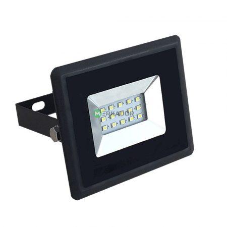 V-TAC 10W SMD LED reflektor, fényvető meleg fehér - fekete ház - 5940